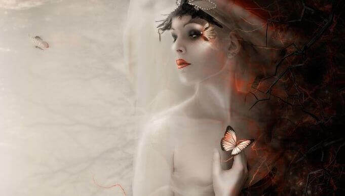 mulher-com-borboleta