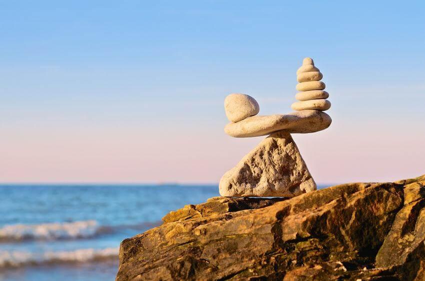 pedras-equilíbrio