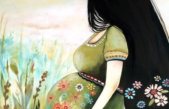 A gravidez:  amar alguém que você ainda não conhece
