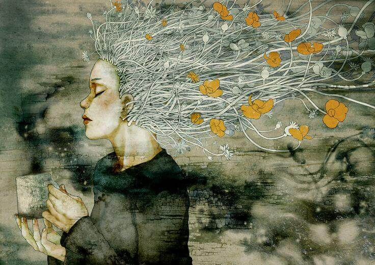 mulher-cabelos-de-flores