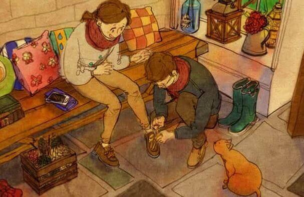 Tratar com carinho é tocar a alma do outro com respeito