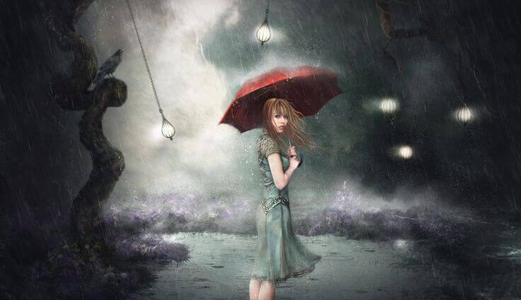 mulher-na-chuva