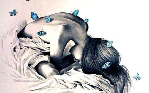 menina-com-borboletas-azuis