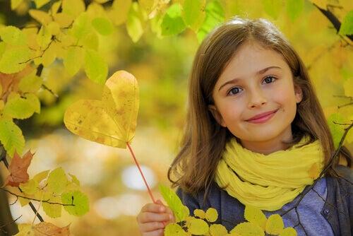 Uma criança amável é uma criança sadia