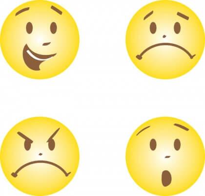 felicidade e emoções