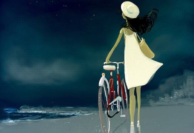 menina-bicicleta-na-praia