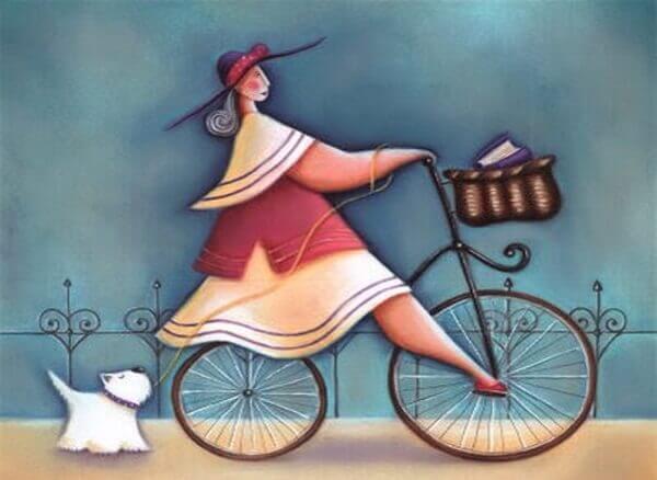 moça-bicicleta