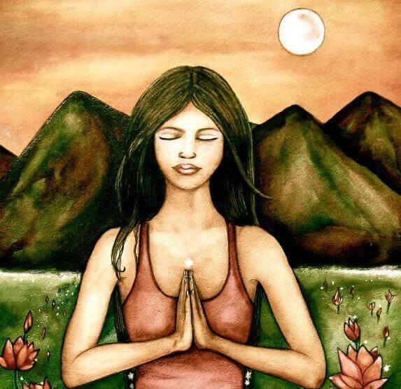 mulher-meditando-na-natureza