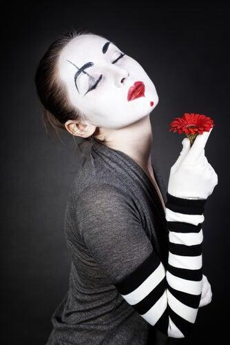sentimento e flores