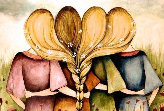 Resultado de imagem para mulheres unidas e felizes