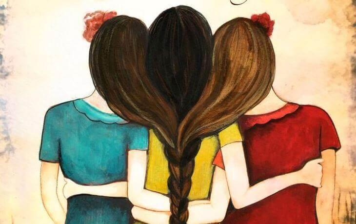 Nenhum abraço é pequeno se vem do coração