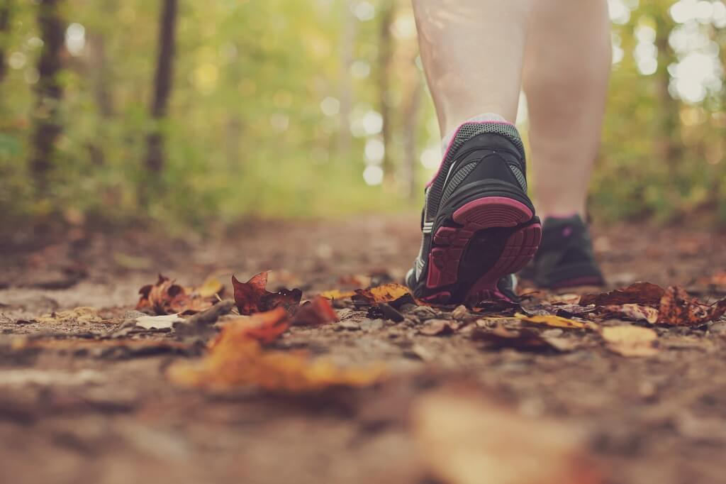 Para levantar o ânimo a melhor coisa é… caminhar