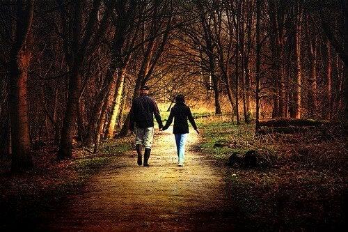 caminhar no bosque
