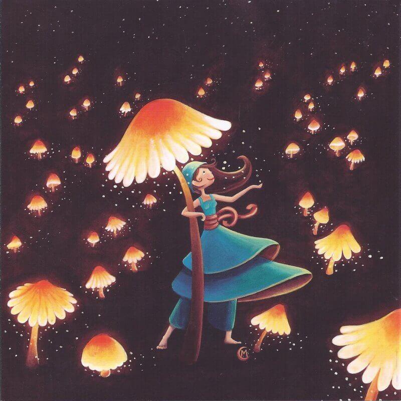 cogumelos-brilhantes