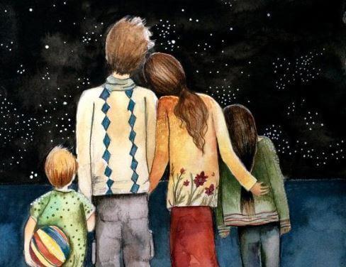 O retrato de uma família feliz