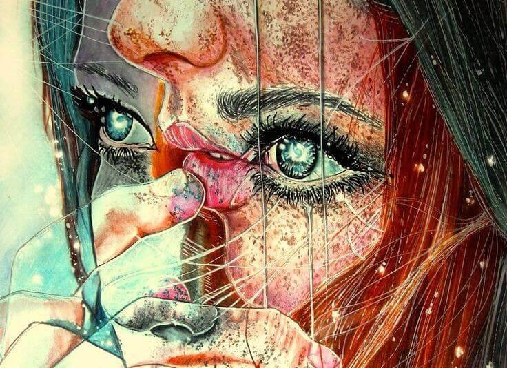 ilustração de uma mulher representando como nos veem