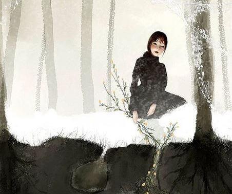 mulher-neve