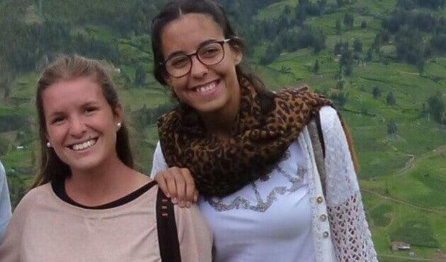 Carta em memória das viajantes argentinas assassinadas no Equador
