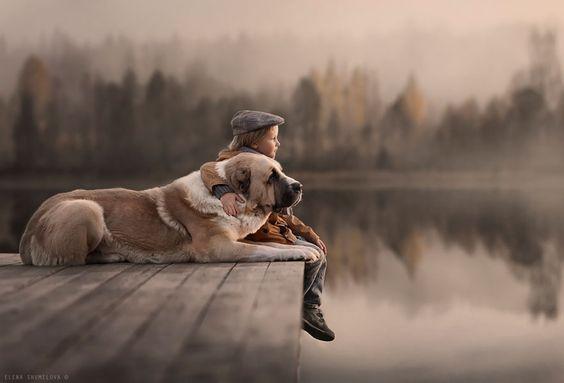 filho-único-com-cachorro