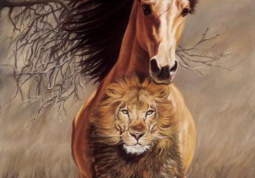 cavalo-leão