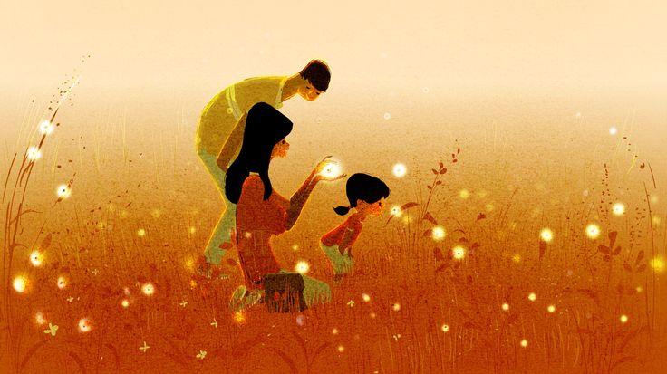 Pais mentalmente fortes com sua filha