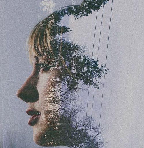 perfil mulher representando como nos veem
