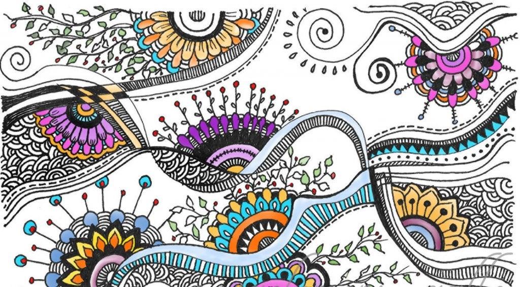 rabiscos e desenhos
