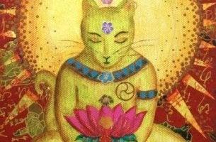 A lenda budista sobre os gatos