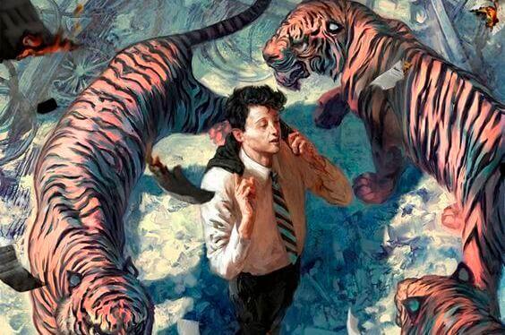 homem-rodeado-de-tigres