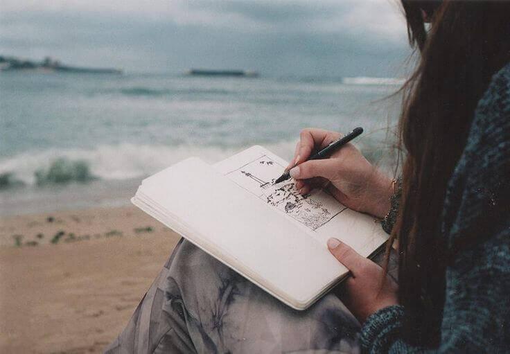 A criatividade é a voz livre que vem do coração