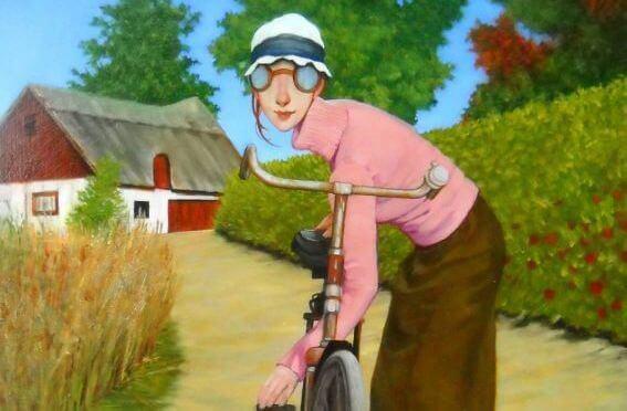 mulher-bicicleta