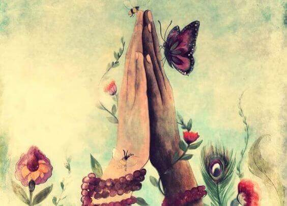 rezando-borboleta