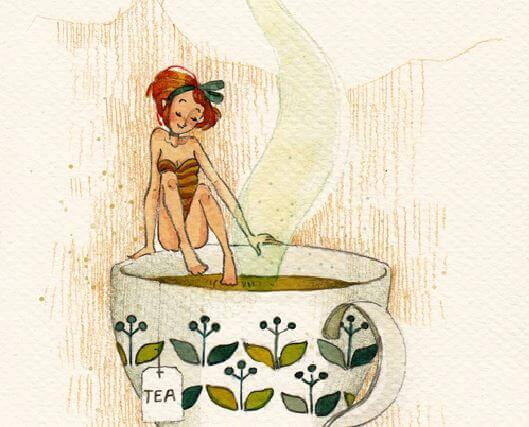 mulher-xícara-chá-faz-sentir