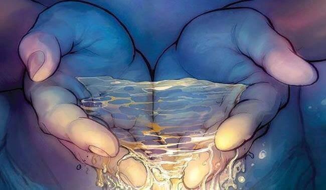 meditar-água-mãos