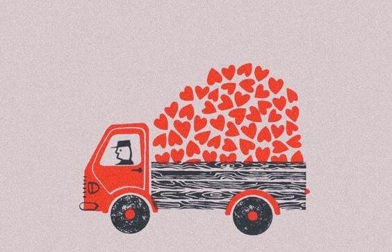 caminhão-coração