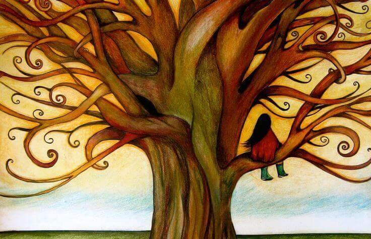 menina-sentada-arvore-representando-ansiedade-nas-crianças