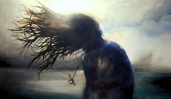 mulher-lutando-contra-ego