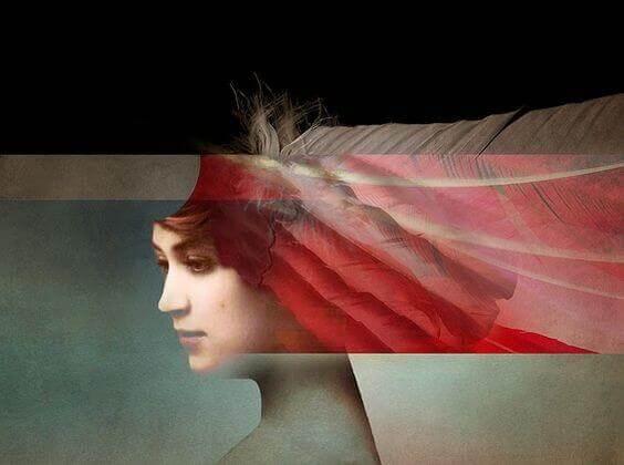 mulher-com-franja-vermelha-confusa-em-relação-a-vida