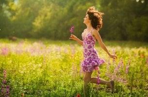 O caminho até a felicidade começa com um sorriso