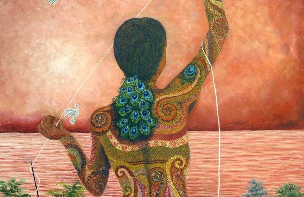 mulher-pavao