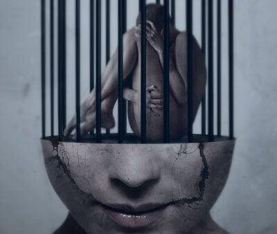 mulher-presa-na-própria-mente-representando-rotinas