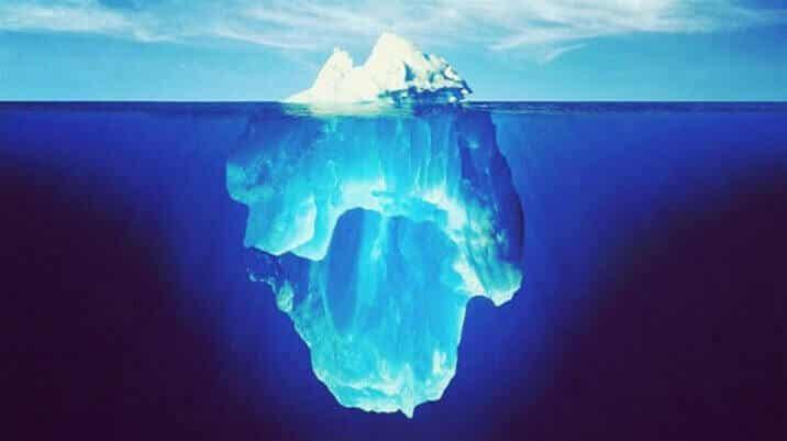 A teoria do iceberg e as nossas decisões