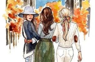 Para as irmãs a distância não tem importância: são unidas pelo coração