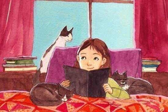 Uma criança que lê será um adulto que pensa