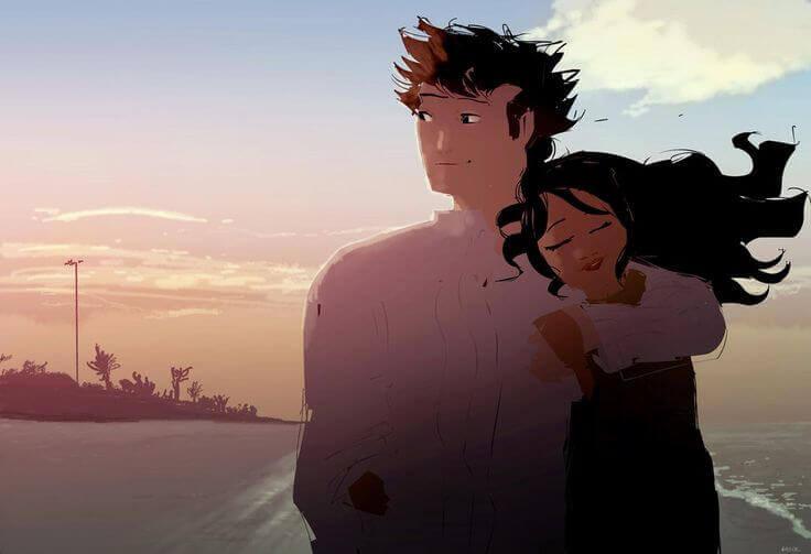 Para um casal, a liberdade é o ar que revive o amor