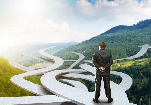 definir os caminhos de sua vida
