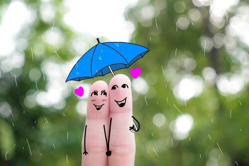 Feliz com amor