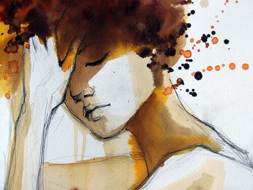 Mulher aceitou sua vulnerabilidade