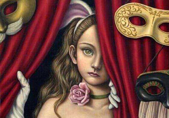 menina-com-máscaras-representando-emoção