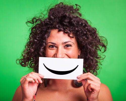 Sorriso para ser feliz